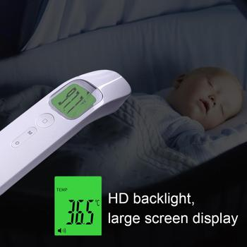 Infrared Thermometer Forehead & Ear Digital Non-Contact Electronic Medical Clinical Thermometers For Baby Adult CE ISO In Stock