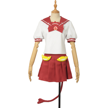 Anime Mairimashita! Iruma-kun Clara Valac Cosplay Costume Welcome to Demon School Uniform For Women Men Custom Made 2