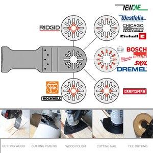 Image 5 - NEWONE 3pc HCS/Japan zähne/BIM Universal Oszillierende MultiTool sägeblätter fit für Makita,AEG, fein und die meisten marken von multi werkzeug