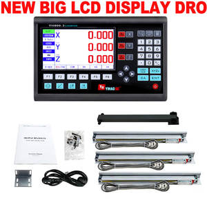 Dro-Set Lathe-Mill-Machine Readout-System Optical-Ruler Dimension Digital Linear 3-Axis