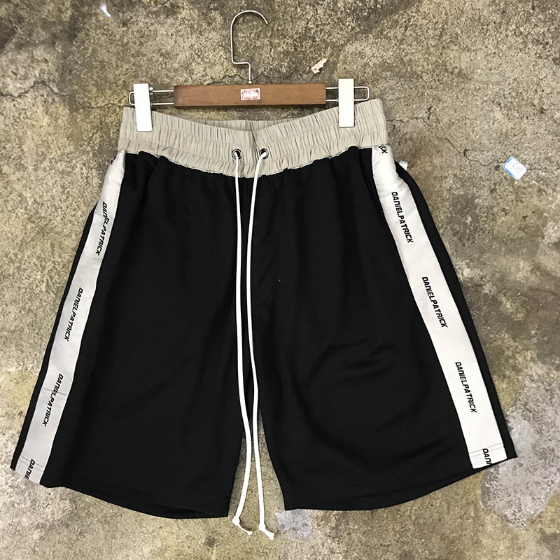 High Quality Daniel Patrick Shorts Men Women Drawstring Sportswear Shorts Casual Pocket Daniel Patrick Short Pants