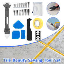 Caulk Nozzle Gasket-Removal-Tool Applicator Silicone with for Kitchen SDF-S 6in1 25pcs