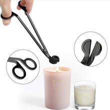 3pcs Stainless Wick snuffer Tool Hook Clipper Steel Candle Trimmer Oil Lamp Trim scissor tijera tesoura Cutter