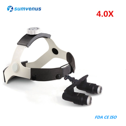 4.0X Medical Dental Headband Binocular Magnifier Kepler FD-501K High Dentistry Surgical Glasses Loupes