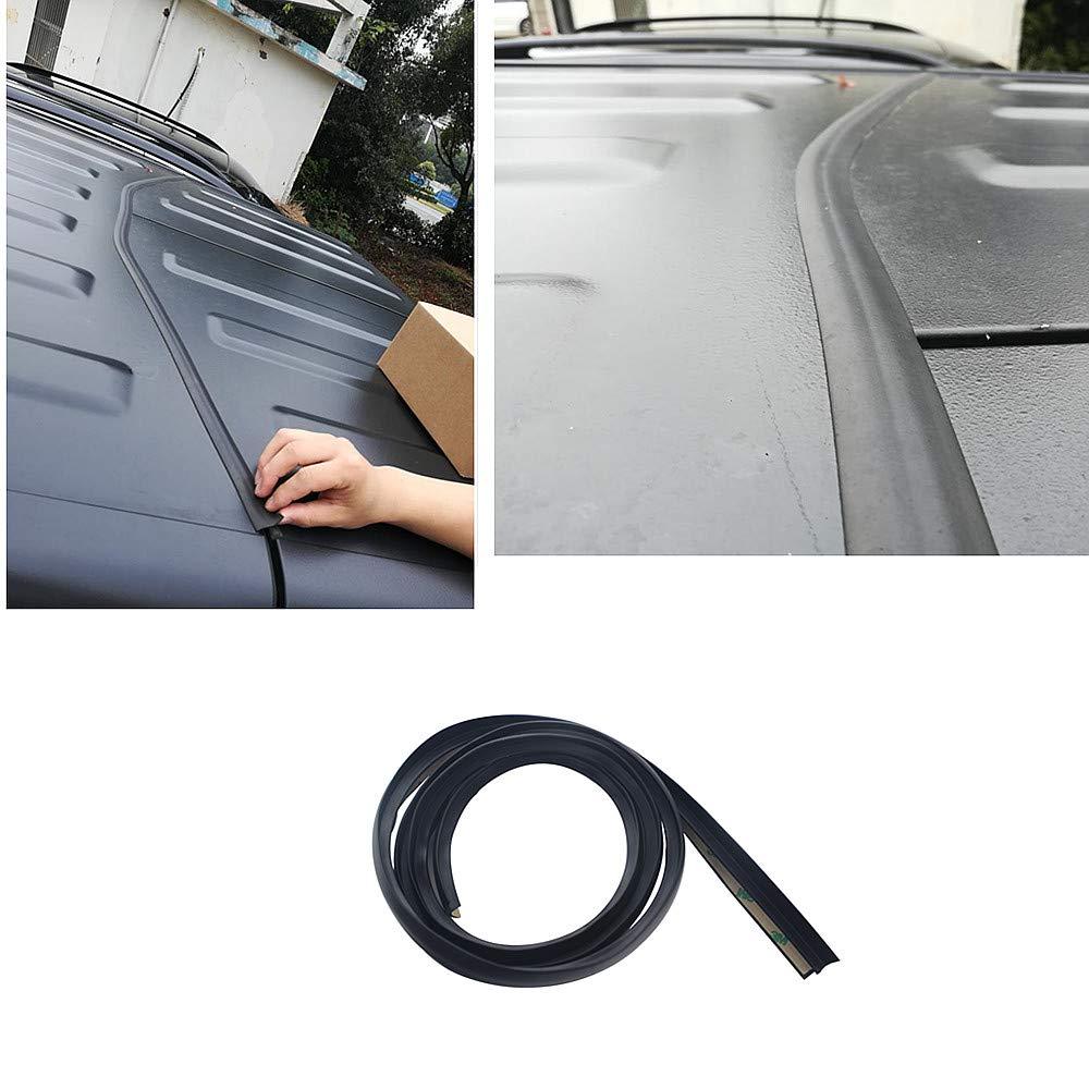 Roof Flow Seal Strip for 2007 2019 Jeep Wrangler JK JL Waterproof Dustproof Reduce Noise Sun Resistant Durable Silicone StripAuto Seals   -