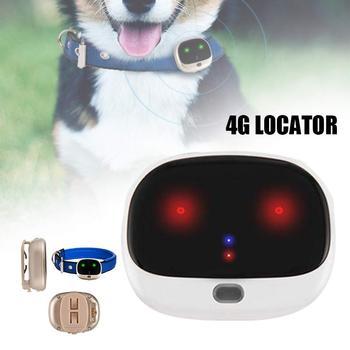 4G Mini GPS Pet Positioner IP67 Waterproof Step Counting Dog GPS Lacator Pet Anti-lost Device PAK55