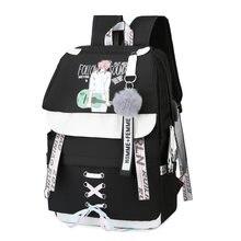Рюкзак для девочки подростка школы большой черный usb рюкзак