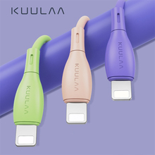 KUULAA Liquid Silicone Cable For iPhone 11 Pro Max X XR XS 8