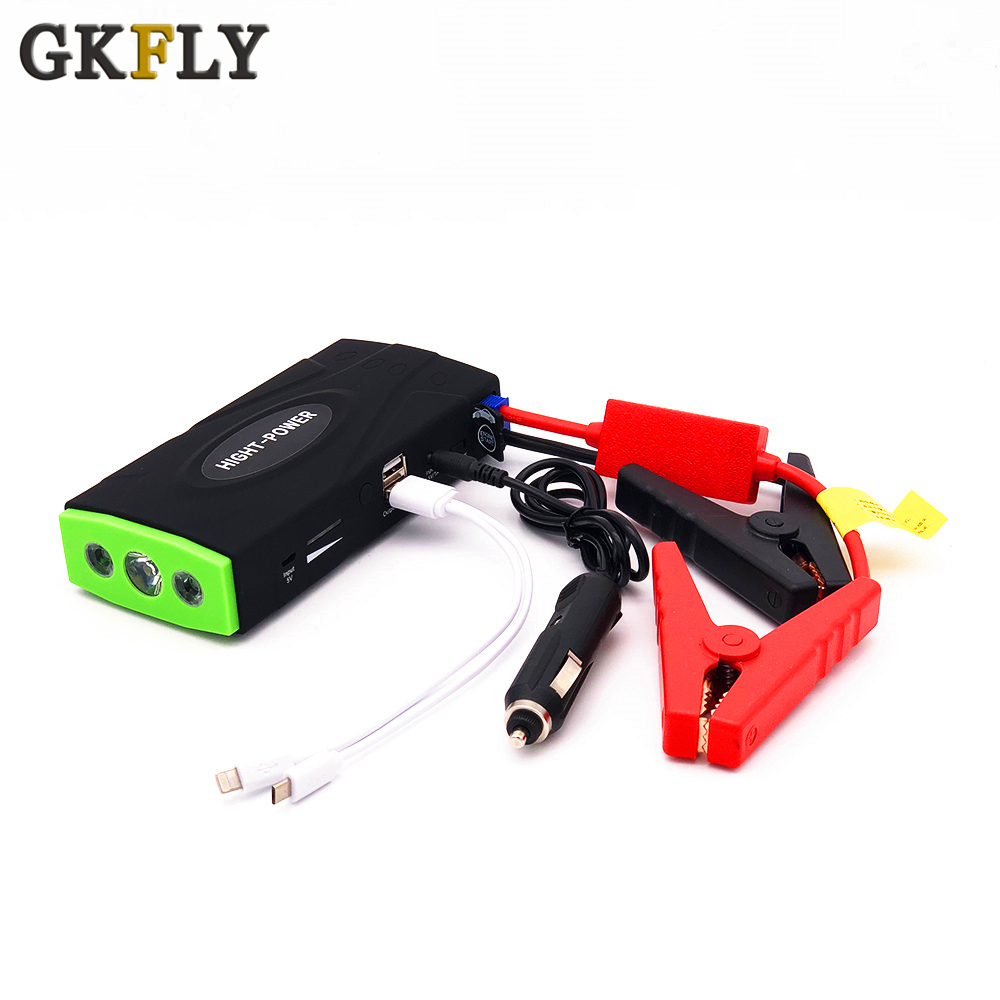 2019 Multifunction Car Jump Starter High Power Portable Emergency Engine Charger Battery Booster Power Bank 12V Starting Device