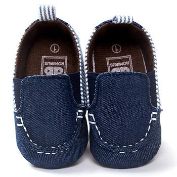 Pasiaste brezentowe buty maluszek niemowlęcy chłopiec dziewczyna maluch miękka podeszwa wygodne buty dziecięce noworodki buciki dla niemowlat tanie i dobre opinie baby girl shoes buciki dla niemowlat baby booties buty niemowlece buty niemowlece baby shoes baby moccasins baby schoenen