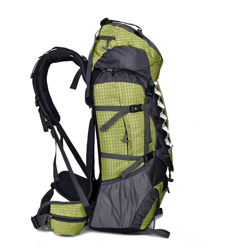 Обработка настраиваемый водонепроницаемый большой емкости уличный для пешего туризма альпинизма спортивный рюкзак путешествия нейлоновы... - 2