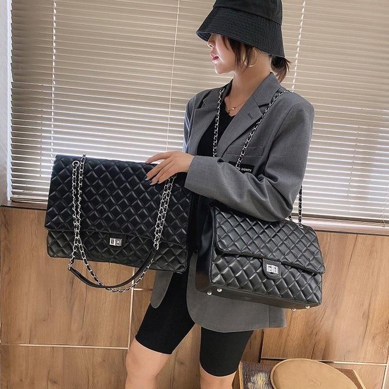 Marke designer handtaschen 2020 neue Koreanische version der große-kapazität rautenförmigen kette umhängetasche mode alle-spiel messenger tasche
