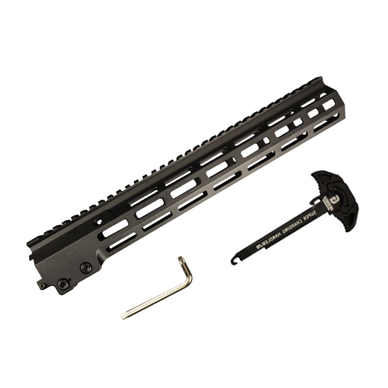XPOWER MK16 Rail Handguard Paintball Accessories part  Fighting Bro Metal refit accessories gel blaster toy accessories-3