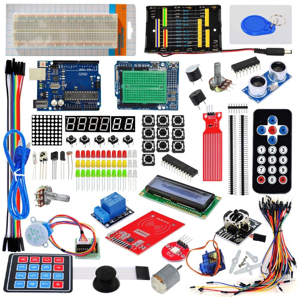 UNO R3 Development Board Kit Containing Membrane Keypad