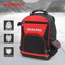 Workpro 2020 新ツールバッグ 17 バックパック防水オーガナイザーバッグ 60 ポケット多機能収納マン
