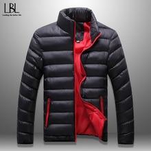 Men's Winter Parka New 2019 Warm Padded Jacket Casual Windbreaker Mens Brand Coa