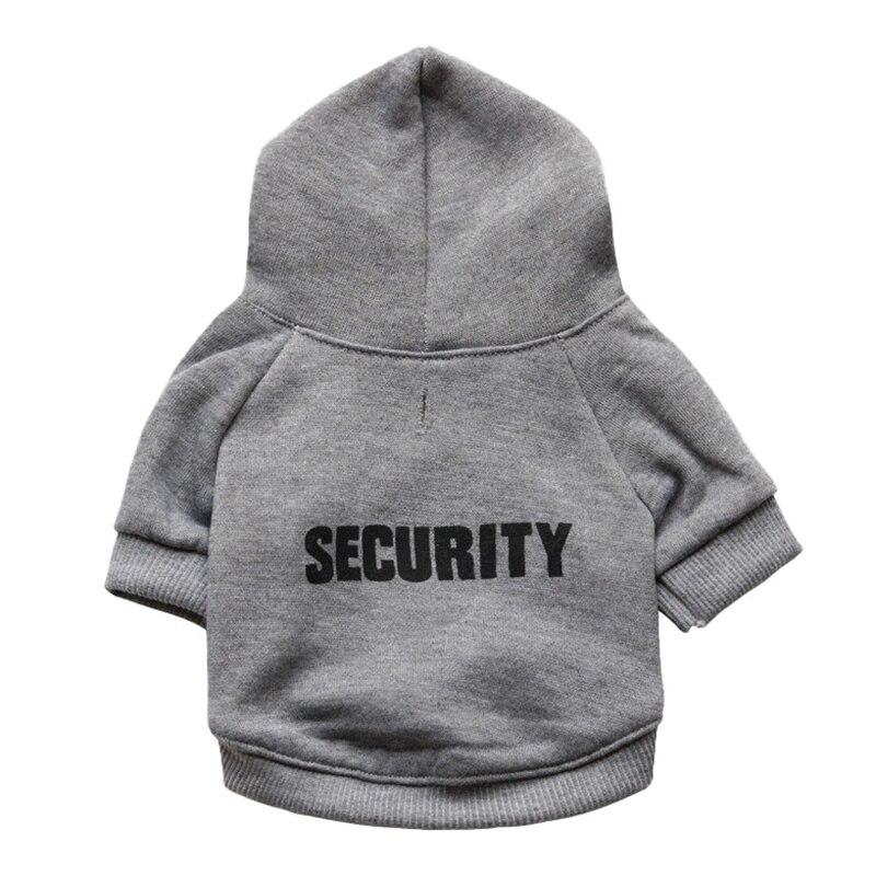 Security Dog Cat Clothes Pet Cat Coats Jacket Hoodies For Cats Dog Outfit Warm Pet Clothing Rabbit Animals Pet Sweatshirt 12