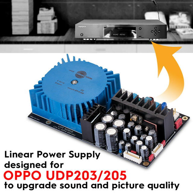 2020 Nobsound Built in Linear Power Supply LPS Module for Modify OPPO UDP203/205 Blu ray Player PSU