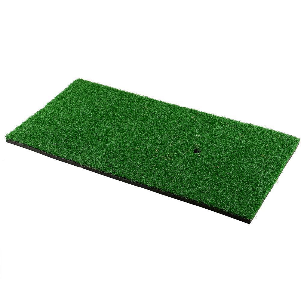 Golf Hitting Mat 60x30cm Free Shipping Tee Holder Practice Rubber Backyard Residential