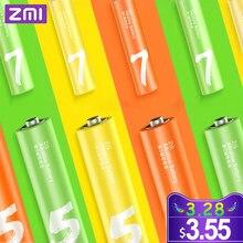 Original ZMI ZI7 ZI5 AAA AA 700mAh 1800mAh 1.2V Ni-MH Battery ZMI Power Bank rechargeable 4 8v 700mah 4 x aaa ni mh battery pack