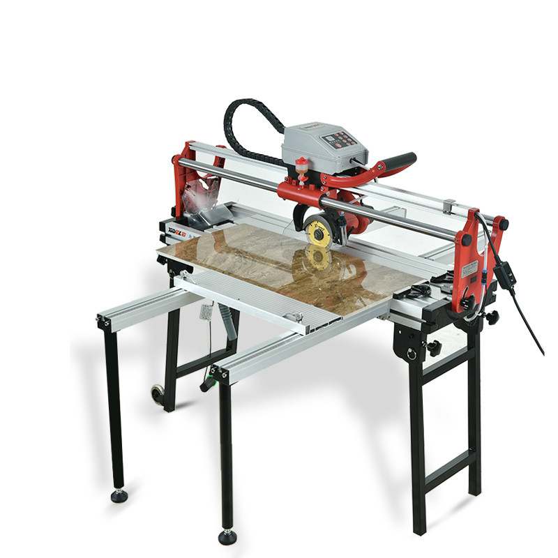 Sidler Fully Automatic Multi-functional Desktop Tile Cutter Electric 45-Degree Chamfer Slotted Frayed Edge Water Jet Floor Tiles