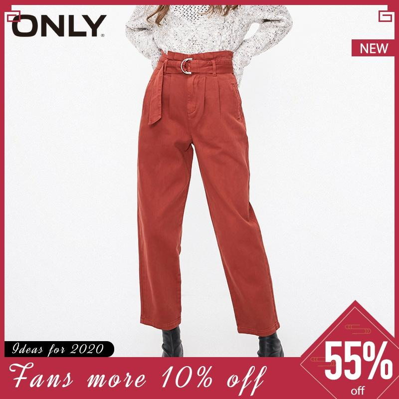 ONLY Winter Womens  Straight Fit High-rise Jeans Pants  119132513