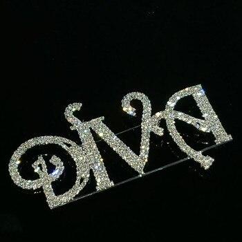 Broche de cristal hecho a mano para mujer, joyería de lujo, tamaño...