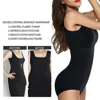 Bodysuit Shapewear Women Full Body Shaper Waist Trainer Stomach Slimming Underwear Faja Belt Tummy Control Shaper Trimmer 4