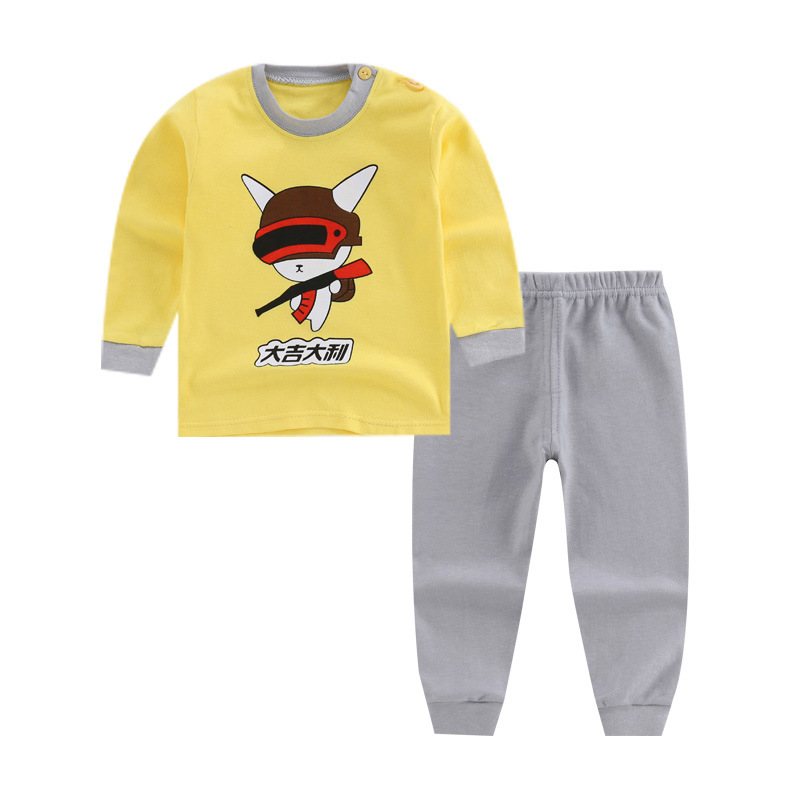 Toddler Boys Clothing Set Letter Long Sleeve T Shirt Tops+solid Pants Autumn Winter Children Kids Outfits Clothes Sets 6M 12M-7T