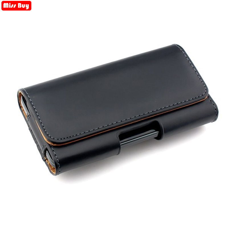 Universal Casual Leather Phone Pouch with Holster Bag Belt Good Protection For Phones 1