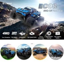 Eachine EC08 RC Car 4WD 1/18 2.4GH 38km/h Super Power High speed Trucks Off-Road Trucks With differential Toys for Children