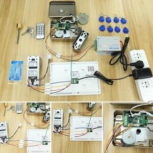 Image 5 - Homefong Video Intercom 7inch Wired Video Door Phone 1000TVL IR Doorbell Camera With Electric Lock for Home Door Intercom System