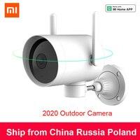 Xiaomi imilab Smart Outdoor Kamera Wasserdicht Ptz Webcam 270 winkel 1080P Dual Antenne Signal Wifi Ip Cam Home security mihome App-in 360°-Video-Kamera aus Verbraucherelektronik bei