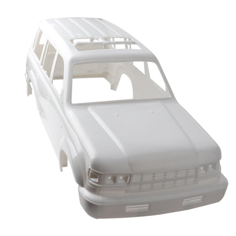 <font><b>1/10</b></font> Land Cruiser LC80 HARD Plastic <font><b>Body</b></font> <font><b>Shell</b></font> 313Mm Wheelbase for Axial SCX10 <font><b>Rc</b></font> Crawler Truck Hz image