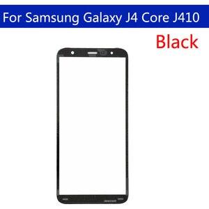 "Image 3 - 10pcs \ lot Touchscreeen Samsung Galaxy J4 Çekirdek J410 J410F J410DS J410G Ön Dış Cam dokunmatik ekran lensi Değiştirme 6.0"""