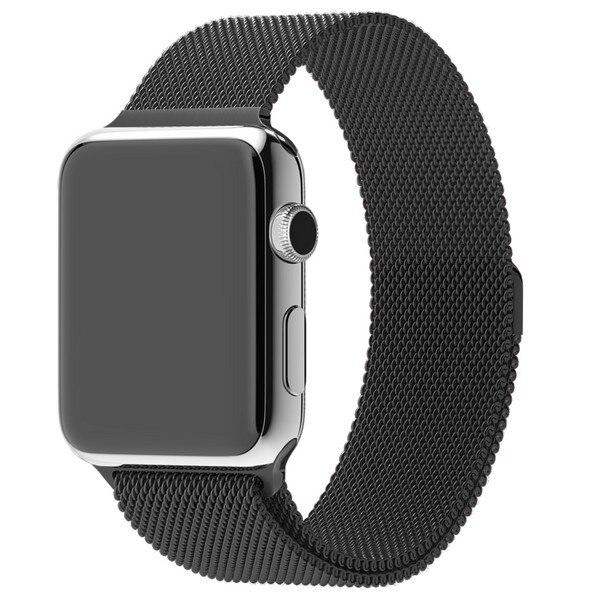 Ремешок Krutoff Milanese для Apple Watch 42/44mm (black) 1 Ремешки для часов      АлиЭкспресс