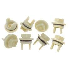 Piezas de repuesto para picadora de carne eléctrica Bosch Mum Siemens Beko, engranaje de picadora, manga de procesador de alimentos, tornillo 418076, 8 Uds.