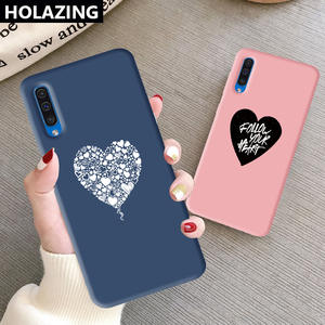 Silicone-Case Anti-Shock-Cover Samsung Galaxy for A10 A20/A20s/A50s/.. Follow-Your-Heart