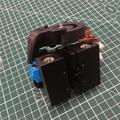 Anet A8 V6 Bowden Экструдер X осевая каретка держатель, алюминиевый сплав Prusa i3 bowden экструдер держатель для Anet A8 3D принтера
