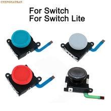 Mando analógico 3D para Nintendo Switch, repuesto de sensor para Joy Con, negro, azul, rojo y blanco, 1 unidad