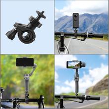 Dla Xiaomi Bike Holder dla Insta360 ONE X EVO dla Insta 360 One X kamera wideo dla 360 kamera dla Insta 360 One X Accesorios tanie tanio powstro for Insta 360 One X EVO action camera 360 ° Wideo Kamery akcesoria Samochodowe 50 g 10*5 5 cm