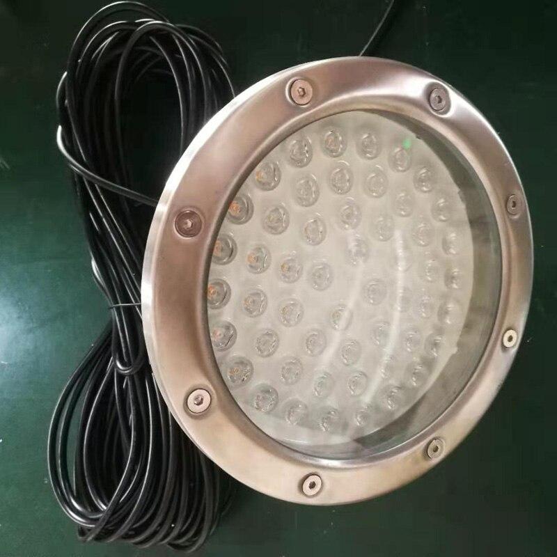 Multi cor 52 leds 15 ° penetra 50 m indicador de atração de peixes de água profunda lâmpada isca led piscando pesca luz - 5