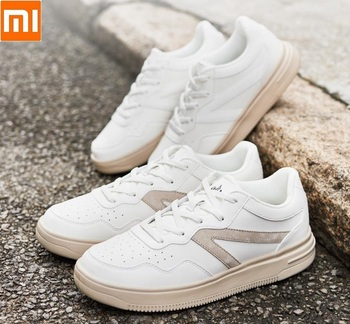 Xiaomi men women Couple Small white shoes Sneakers sports shoes Lightweight sole Breathable Comfortable Outsole