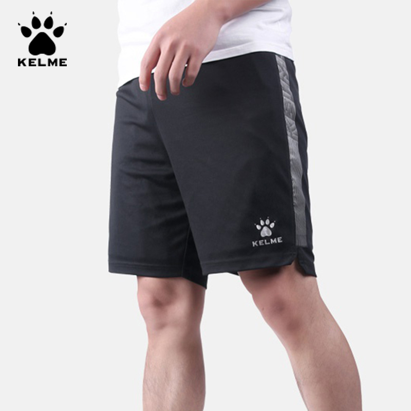 KELME Brand Men's Shorts Breathable Quick Drying Casual Running Shorts Men Sportswear Light Comfortable Elastic Waist 3991565