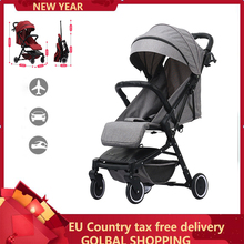 Light weight folding Baby stroller for children 2 in 1 Can sit and lie down Trav