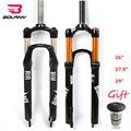 RockShox XC28 удаленные Корона Велосипедная вилка 26 дюймов MTB велосипедная передняя вилка с амортизацией 1-1/8 дисковые тормоза вилки для горных ве...