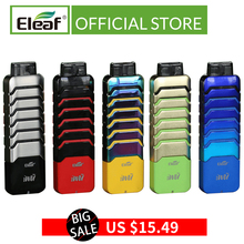 Clearance Original Eleaf iWu kit pod system 15W max and 2ml capacity with 700mAh battery TPD Compliant Electronic Cigarette