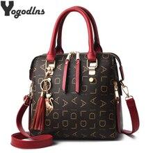 2020 New Tassel Designers Fashion Women PU Leather Bag Large Capacity Shoulder Bags Casual Tote Simple Top handle HandBags