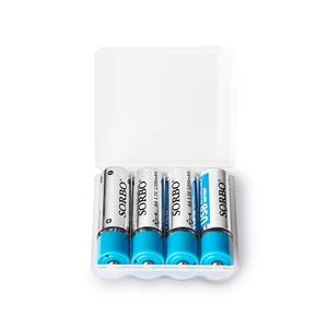 Image 2 - 4/8 Cái Sorbo 1.5V AA 1200 MAh Lithium Polymer Lithium Pin USB Sạc Pin Lithium Không bao Gồm Cáp USB Bộ