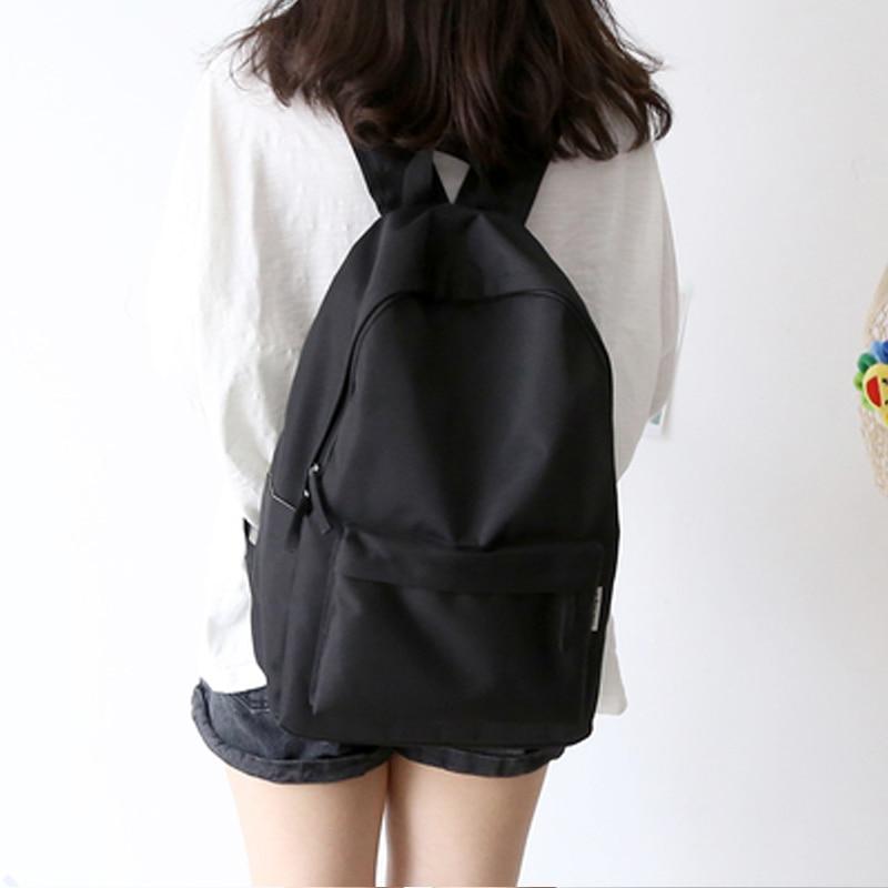 NuFangU Simple Classic Design Oxford Korea Style Women Backpack Fashionable Girls Leisure Bag School Student Book Bag Teenager